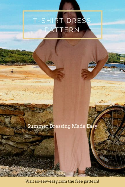 T-Shirt Dress Pattern – Summer Dressing Made Easy