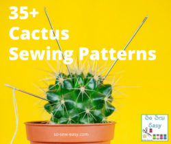 cactus sewing patterns