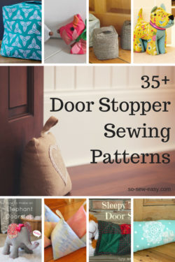 door stopper sewing patterns