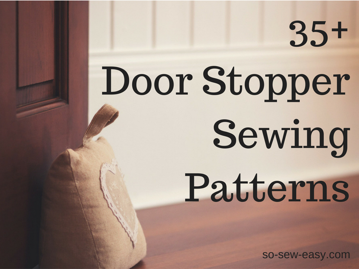 door stopper sewing patterns cropped