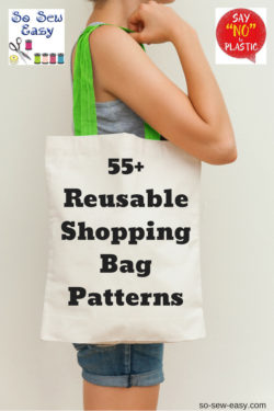 reusable shopping bag pattern