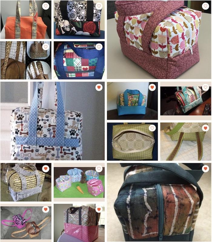 boxy bag pattern