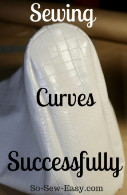 sewing curves