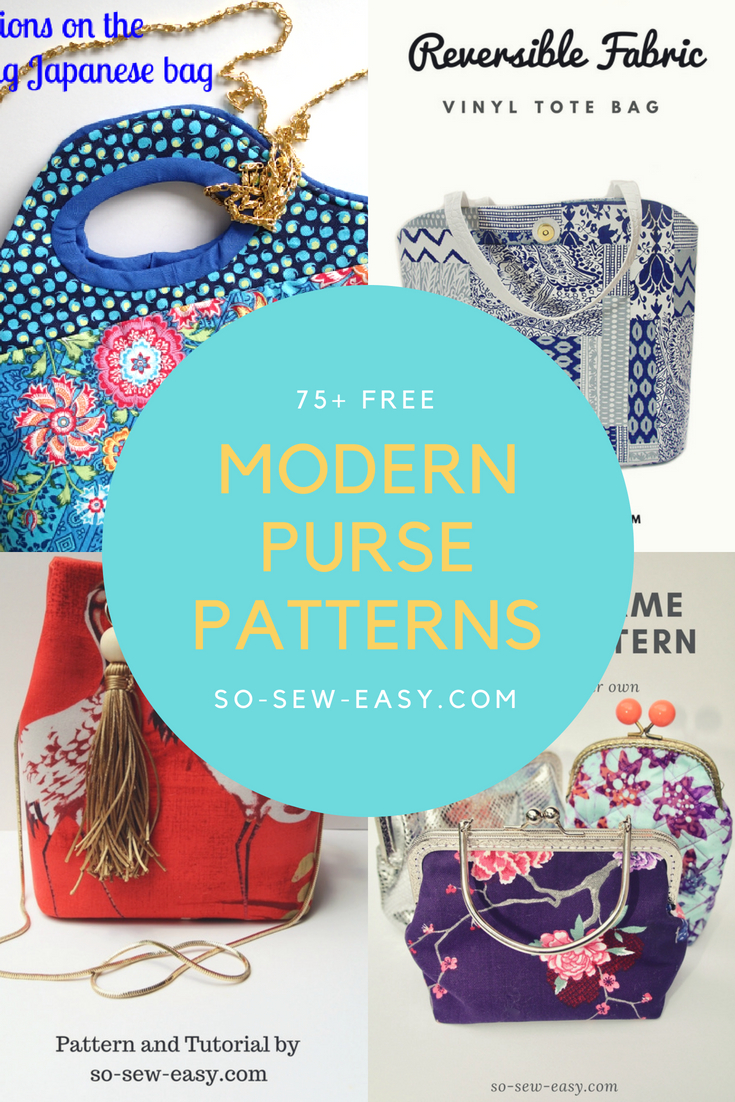 modern purse patterns