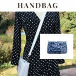 reversible crossbody handbag