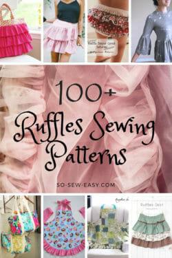 ruffles sewing patterns