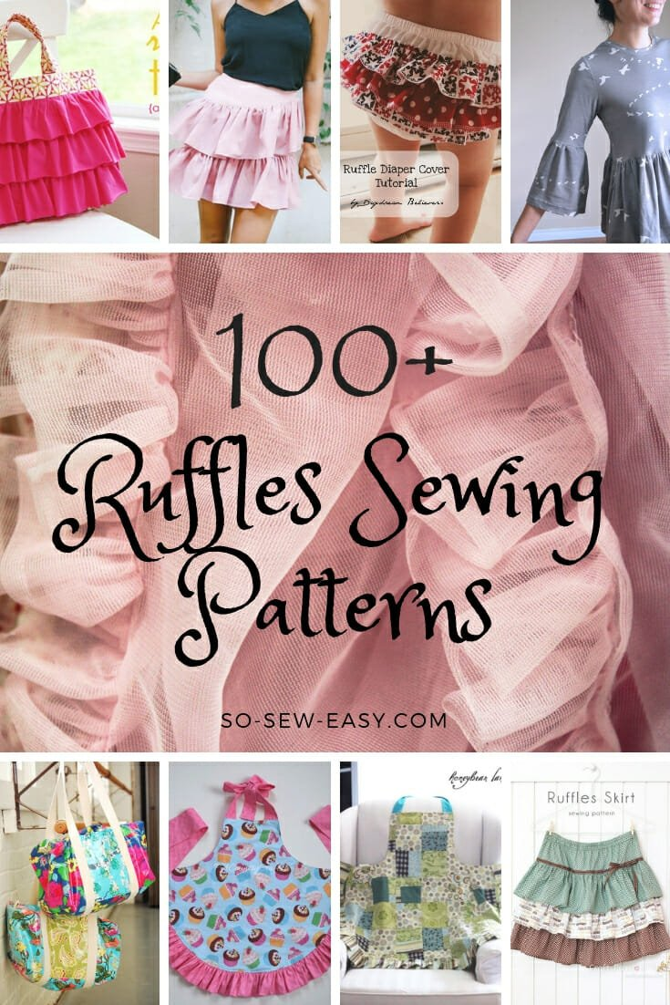 100+ Free Ruffles Sewing Patterns - So Sew Easy