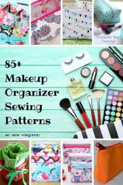 Makeup Organizer Sewing Patterns