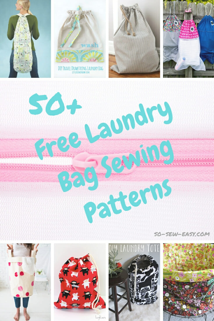50+ Free Laundry Bag Sewing Patterns - So Sew Easy