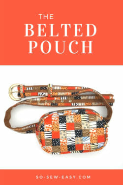 belted pouch