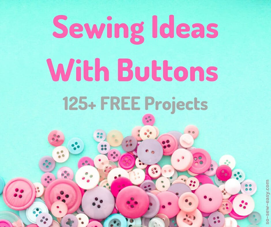 sewing ideas with buttons