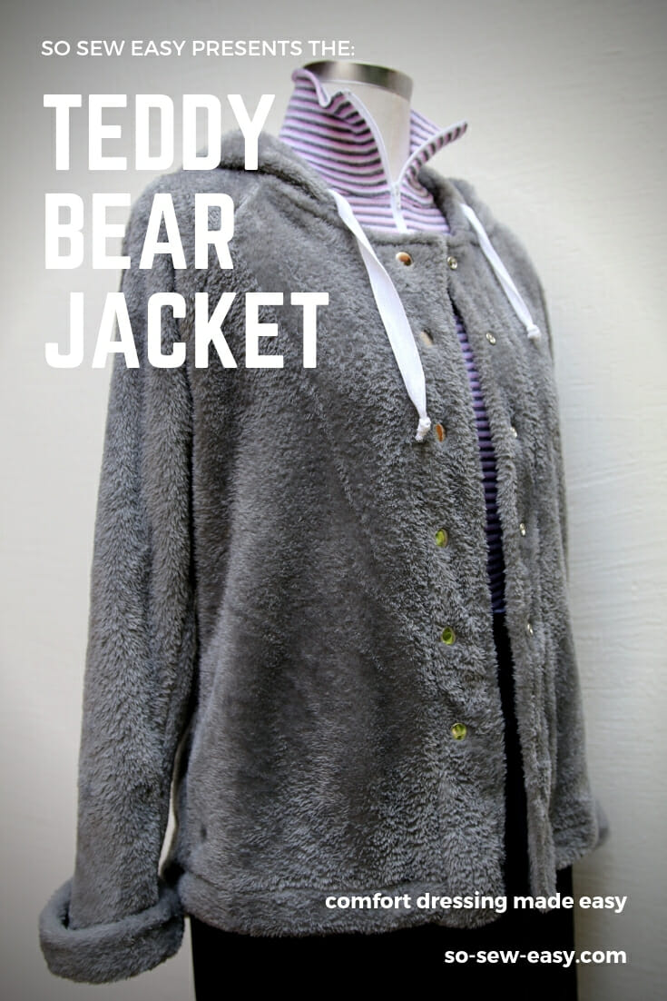 teddy bear jacket pattern