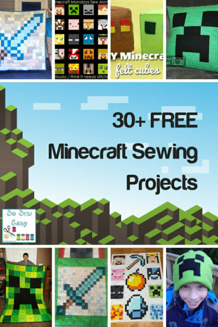 minecraft sewing projects