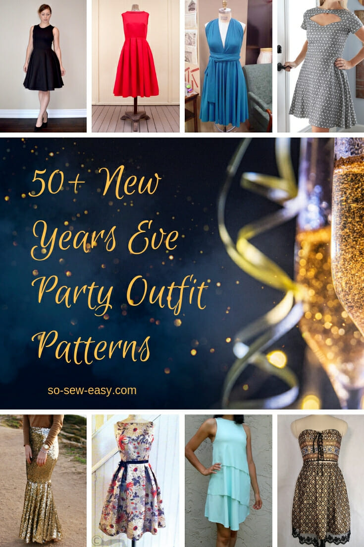 new years eve party outfit patterns