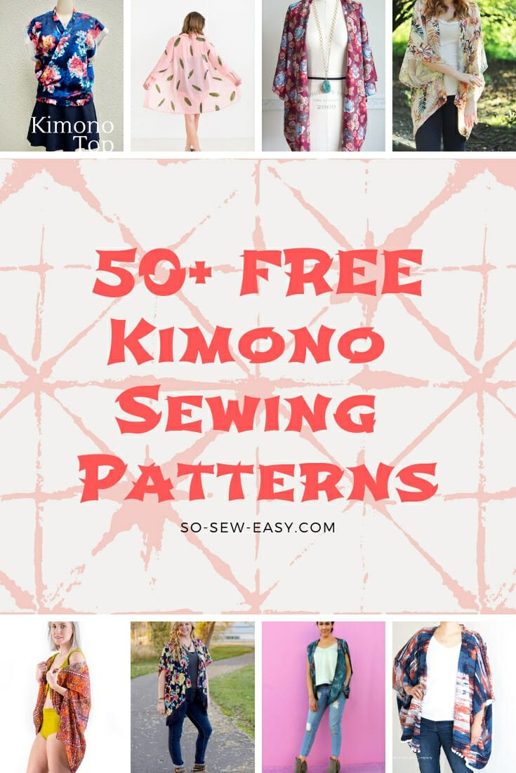 kimono sewing patterns
