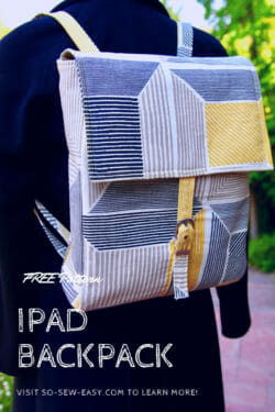 iPad Backpack Pattern