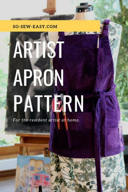 artist apron pattern