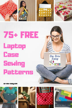 laptop case sewing patterns feature image