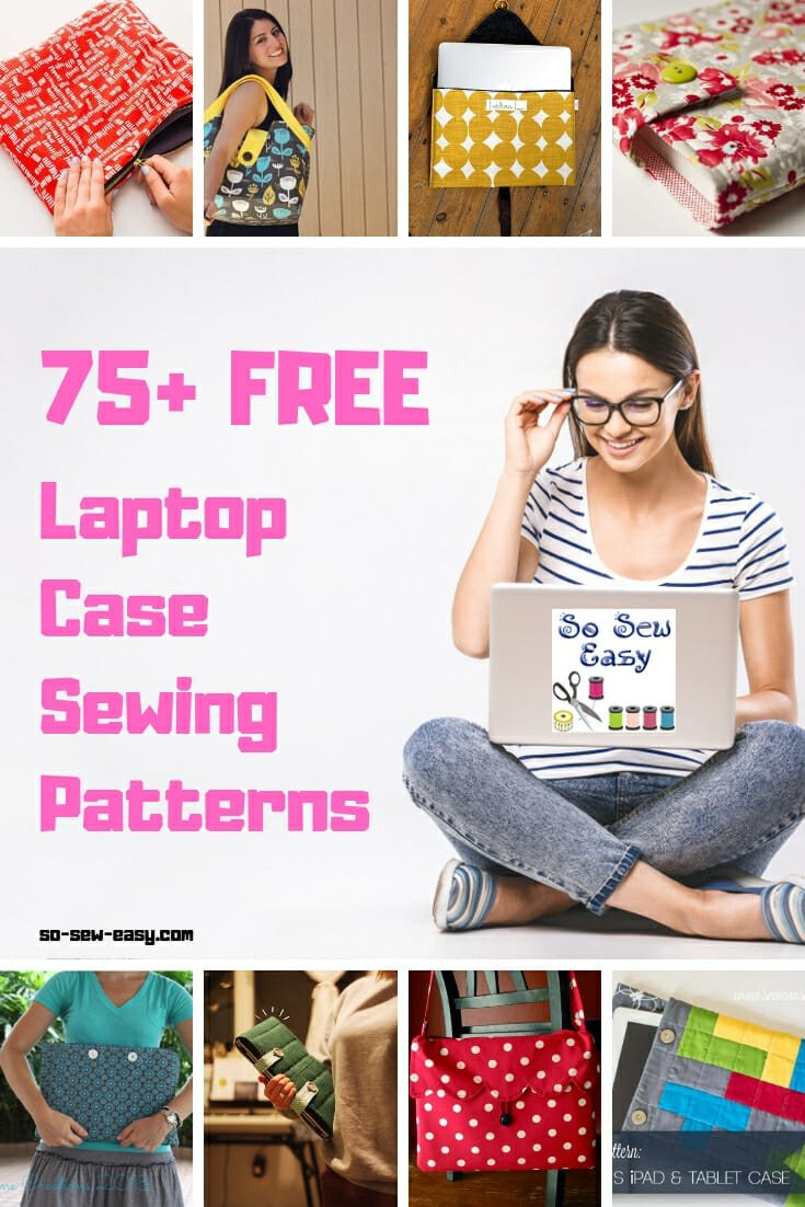 laptop case sewing patterns