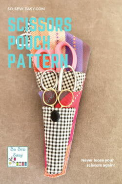 Scissors Pouch Pattern