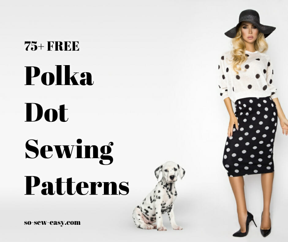 polka dot sewing patterns