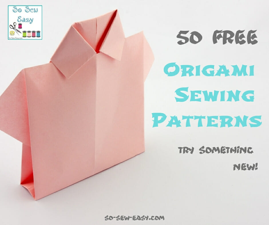 origami sewing patterns