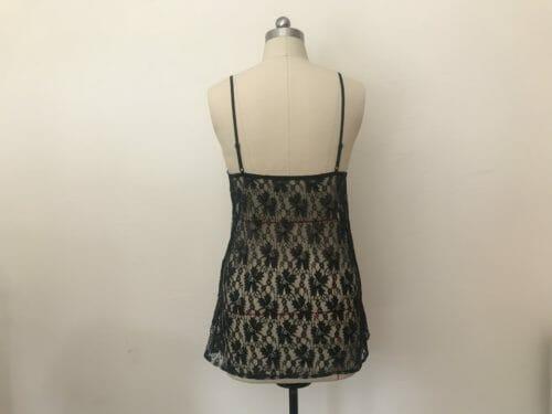 under dress lace slip