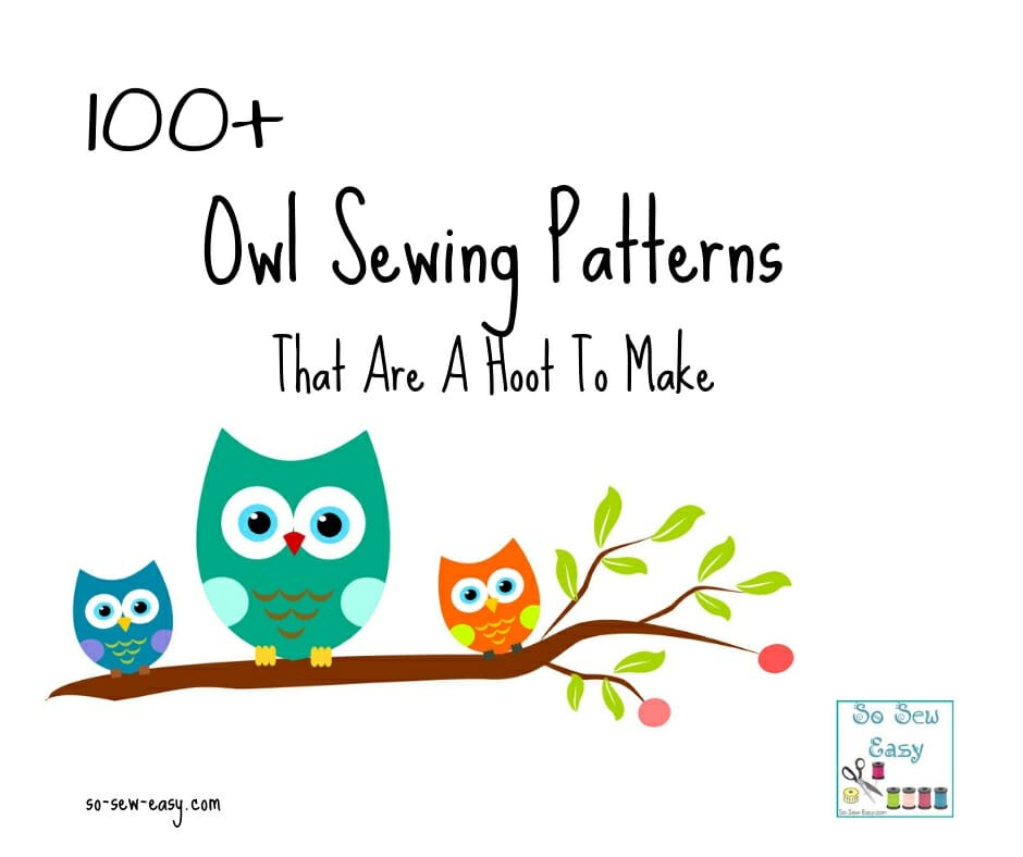 owl sewing patterns