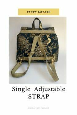 single adjustable strap