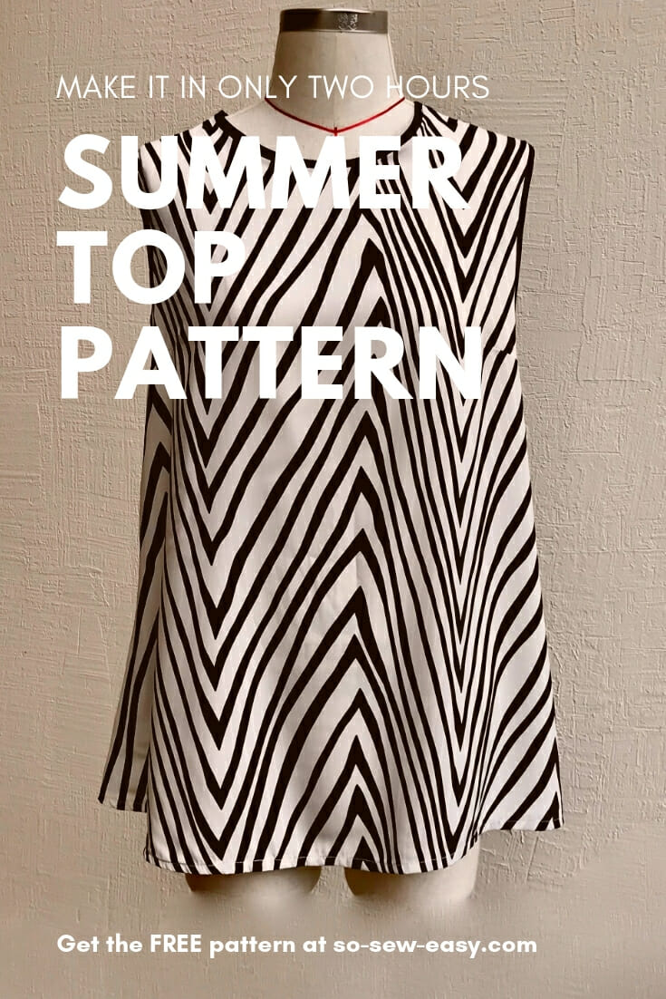 summer top pattern