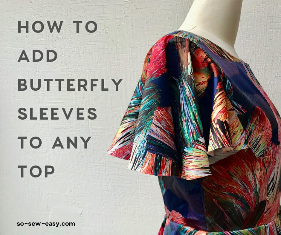 butterfly sleeves