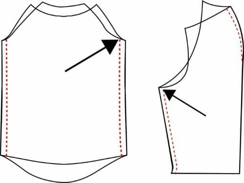 3/4 sleeves boho blouse