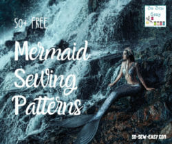mermaid sewing patterns