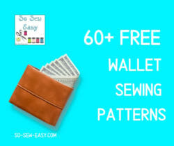 wallet sewing patterns