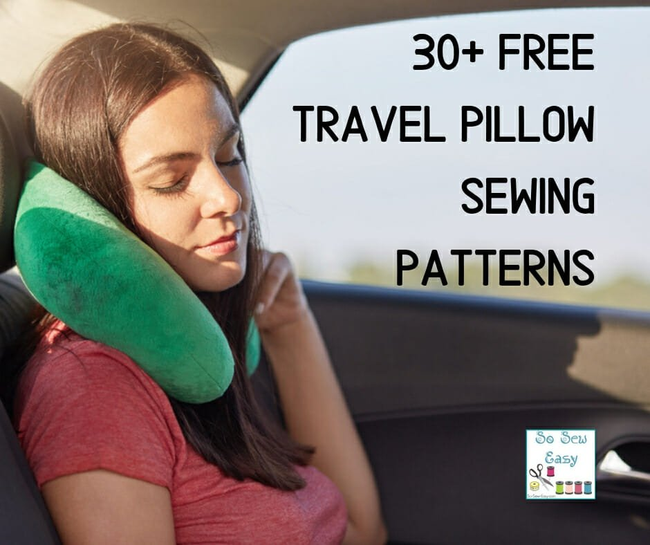 travel pillow sewing patterns