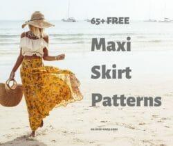 maxi skirt patterns