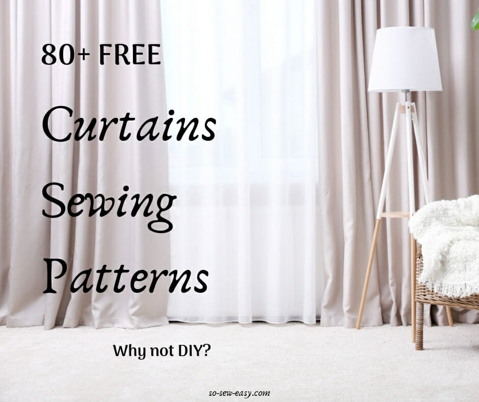 curtains sewing patterns