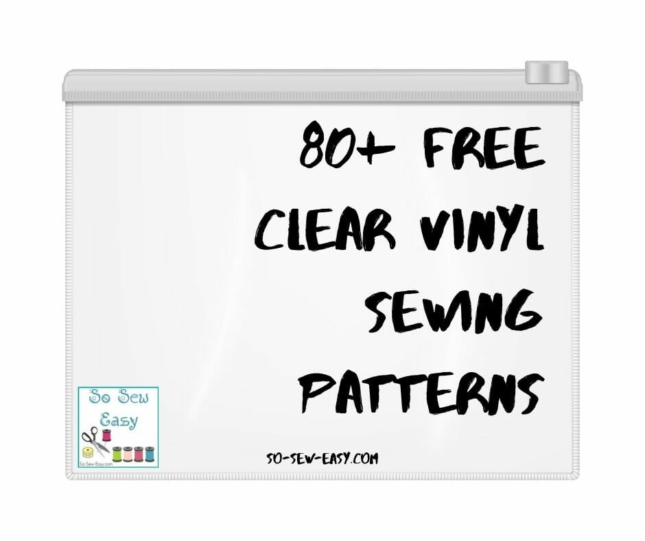 clear vinyl sewing patterns