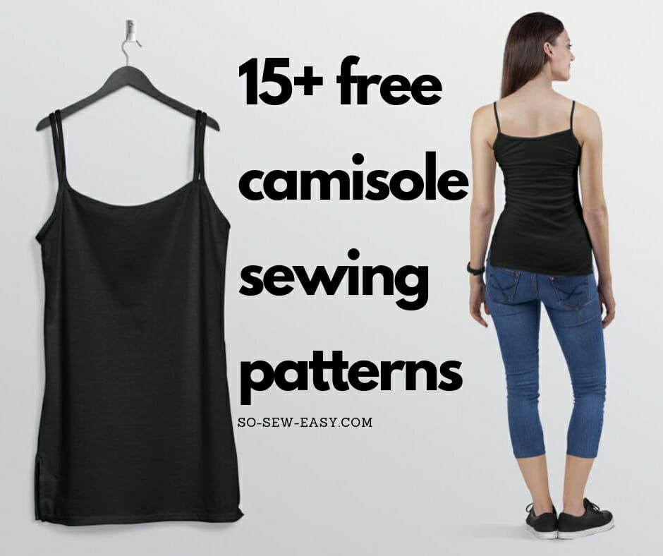 camisole sewing patterns