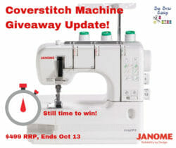 coverstitch machine giveaway