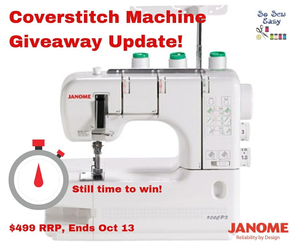 coverstitch machine giveaway