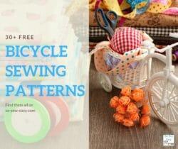 Bicycle Sewing Patterns