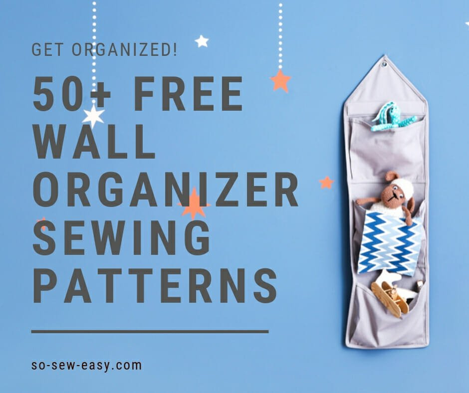 wall organizer sewing patterns