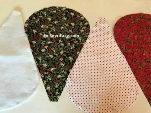 Scalloped Christmas Tree Skirt Pattern Free Easy So Sew Easy