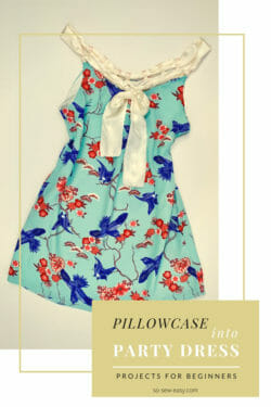 Pillowcase party dress