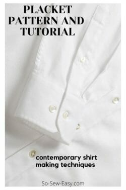 placket tutorial