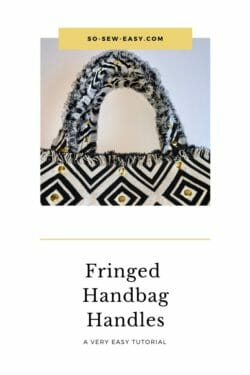fringed handbag handles