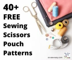 sewing scissors pouch patterns