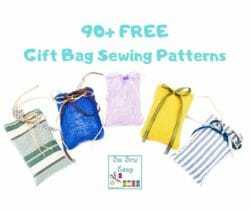 gift bag sewing patterns