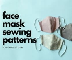 face mask sewing patterns